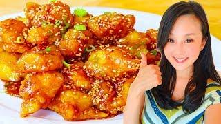 Sesame Chicken, Quick u0026 Delicious Recipe, CiCi Li - Asian Home Cooking Recipes