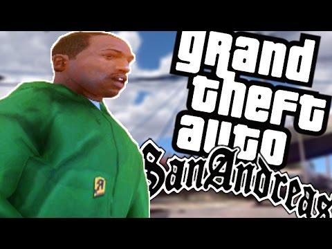 GTA SAN ANDREAS Mods #52 - A GROVE STREET REALISTA MOD: DE VOLTA PARA CASA