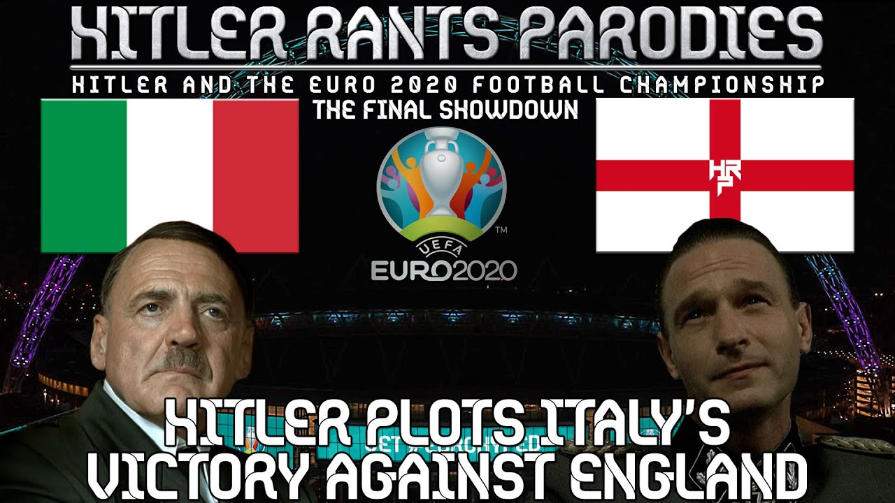 Hitler plots Italy's victory against England in the Euro 2020 Final