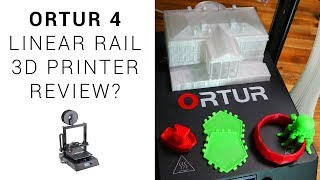 Ortur 4 linear rail 3D printer review(?) - UPDATED