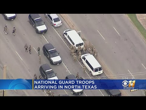 Thousands Of National Guard Troops Expected Throughout Texas