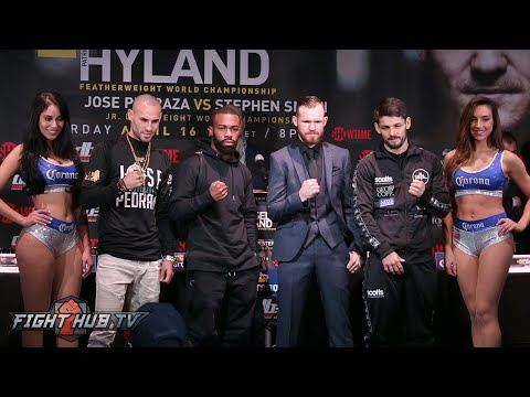 Gary Russell Jr. vs.  Patrick Hyland Complete Press Conference & Face Off Video