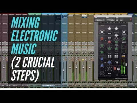 Mixing Electronic Music (2 Crucial Steps) – RecordingRevolution.com