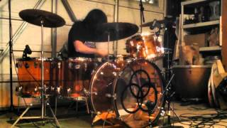Led Zeppelin - Rock and Roll (Drum Cover) - Ludwig Amber Vistalite