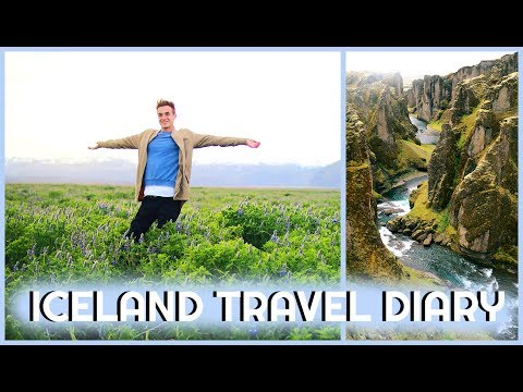 ICELAND VLOG SUMMER 2017 (Top Coolest Places To See On Ring Road)