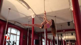 Видеоуроки Школы танцев Exotic Dance. Урок 14: Аллегра Продвинутая