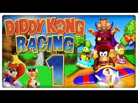 Let's Play DIDDY KONG RACING Part 1: Der einzig wahre Mario Kart Konkurrent!