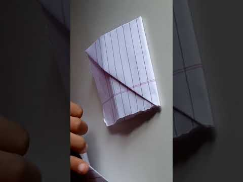 How to make a pen stand with paper