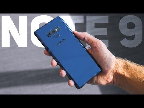 Обзор Samsung Galaxy Note 9: Король Android смартфонов