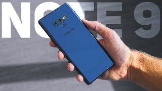 видео Смартфон Samsung Galaxy Note 9 128Gb синий