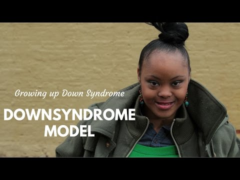 Down Syndrome Model: Gigi Cunningham