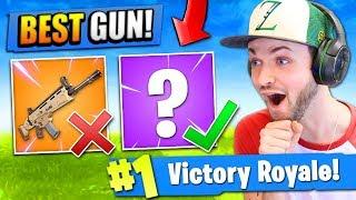 The *REAL* BEST GUN in Fortnite: Battle Royale! thumbnail