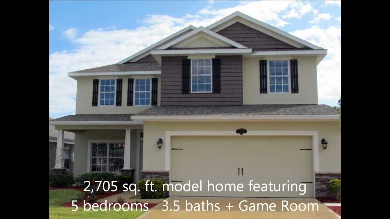adams homes | west melbourne landings | florida | model home 2,705