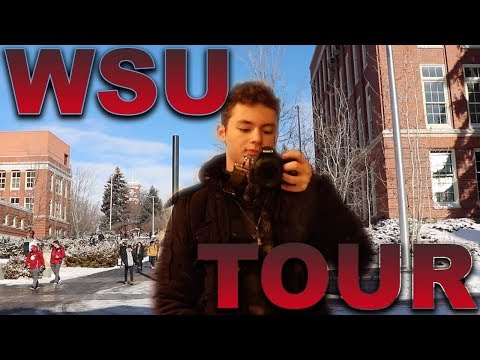 Day In The Life Of A College Student! (Washington State University)