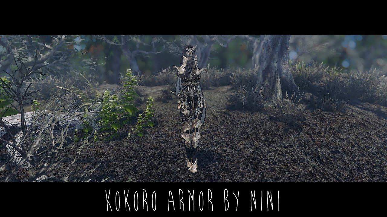 Skyrim Mod | Kokoro Armor Free Download Video MP4 3GP M4A