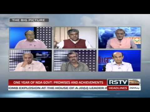 The Big Picture - One year of NDA Govt: Promises and achievements
