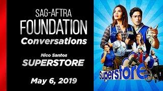 Conversations with Nico Santos of SUPERSTORE