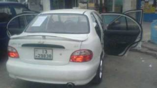 Hyundai Accent 1998 Crystal Lights,Modified Engine.