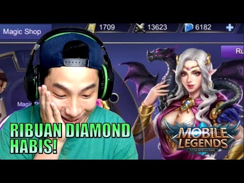 JUDI MAGIC WHEEL UTK SKIN MEVVAH • Mobile Legends Indonesia (60 fps) - 동영상