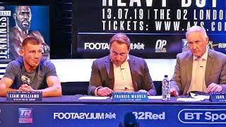 Heavy Duty UNDERCARD PRESS CONFERENCE | Frank Warren Boxing