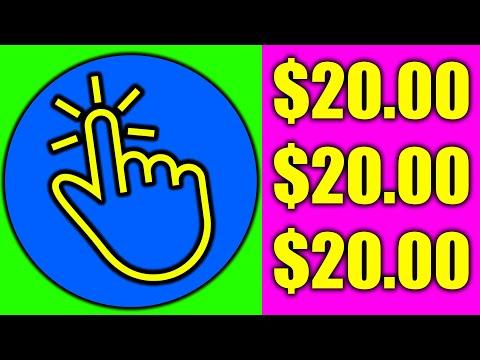 Earn $20.00+ per 1,000 CLICKS! (Make Money Online)