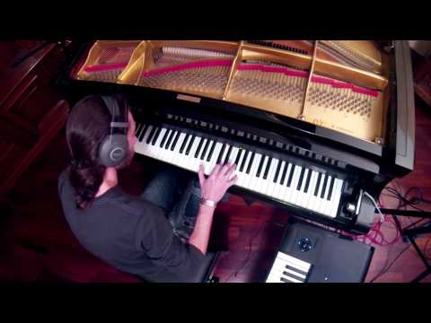 Practicing with Moog Piano Bar - Simone Morandotti - 011113