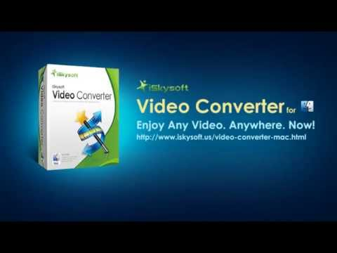 iskysoft-video-converter-for-mac--30x-faster,-100%-original-quality-video-conversion