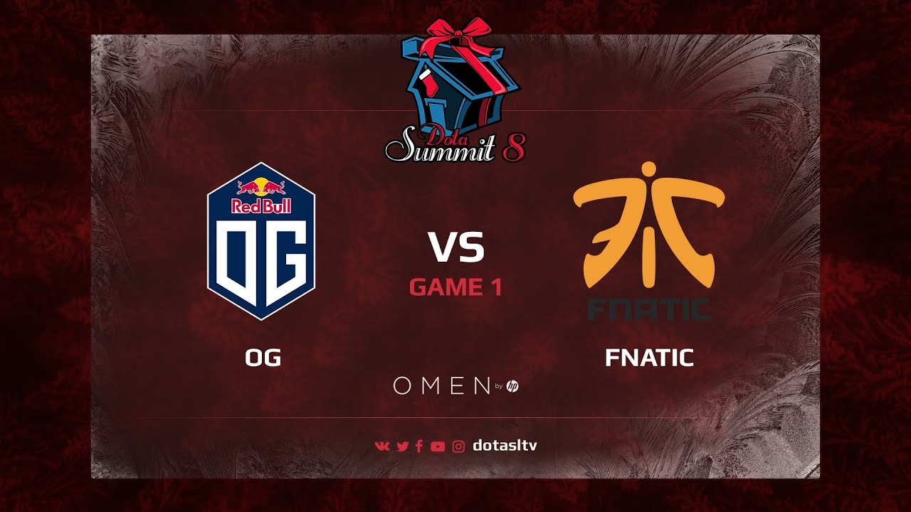 OG против Fnatic, Первая карта, Play-off Dota Summit 8