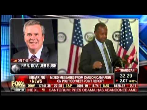 Jeb On Ben Carson's West Point Story: 'I Trust Him'