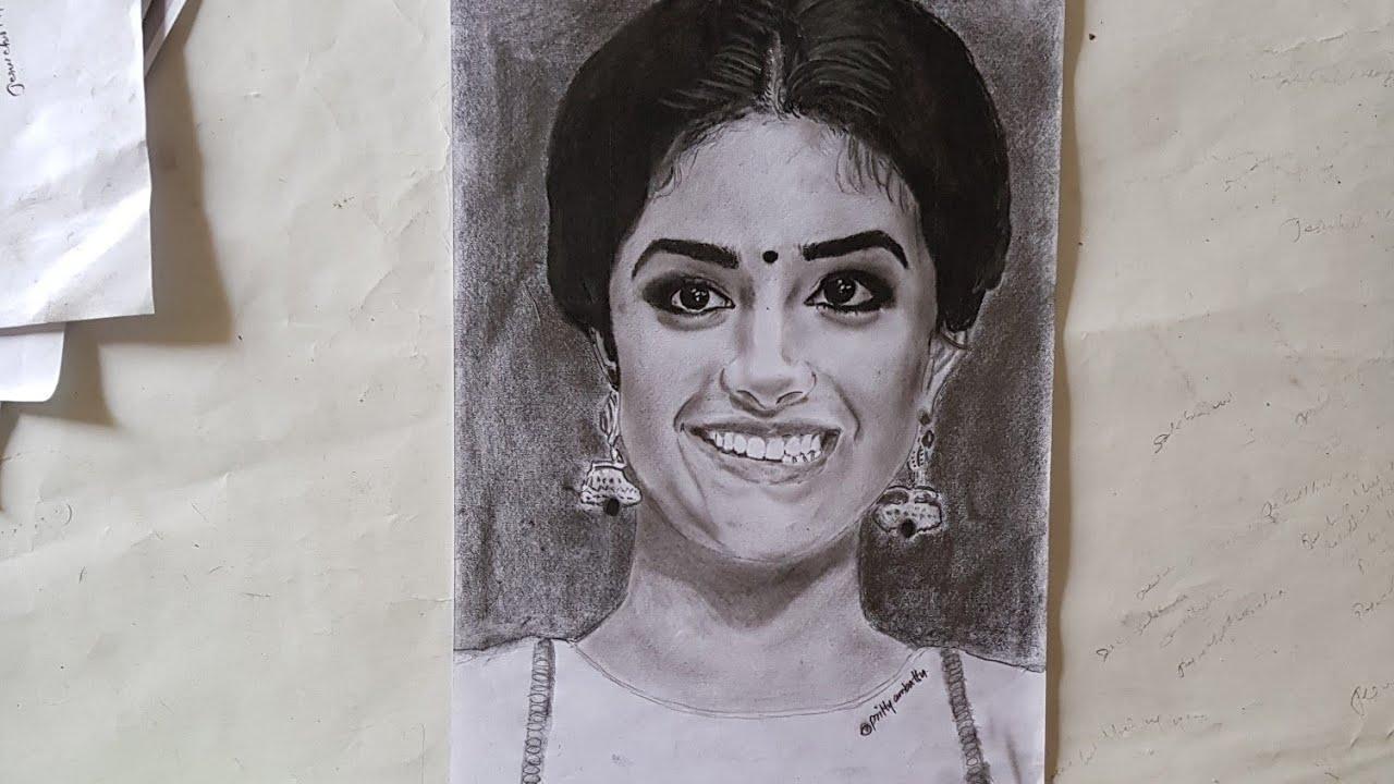 Drawing keerthi suresh