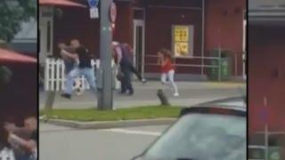 Amoklauf von München: Dieses Amateurvideo zeigt einen der Schützen