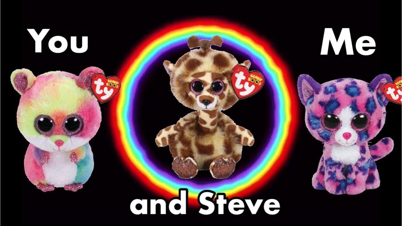 You, Me and Steve Beanie Boo MV | Clean