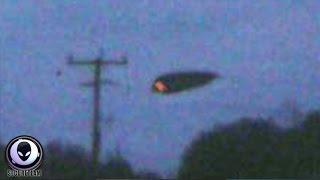 BUSTED! TR3B-Like Alien UFO Caught Flying Over Police Riot In Canada! 7/6/2015