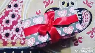 Infinity  explosion box|valentine's day| anniversary/birthday gift||crafatarian||
