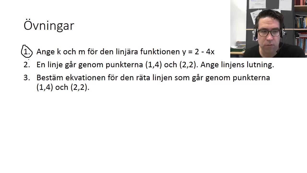Matematik 2c sammanfattning linjära ekvationer och funktioner Office Mix