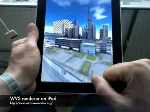 Interactive Rendering of 3D Geovirtual Environments using Image-Based Services