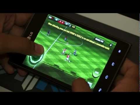 LG Optimus VU Gaming Demo Video - iGyaan