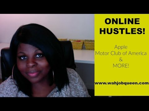 ONLINE HUSTLES | MCA, Motor Club of America, Apple & More!