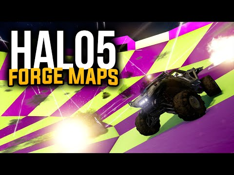 Halo 5 Forge Maps - Hog Bowl (Minigame)