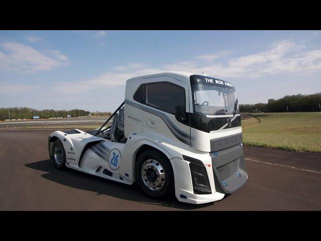 Volvo Iron Knight o caminhão mais rápido do mundo