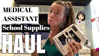 Medical Assistant School Supplies Haul | 2018 | Sophia Dreas