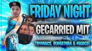 😏🎒 ALLE IM RUCKSACK! Friday Night Turnier mit Trymacs und Co.   Fortnite Battle Royale