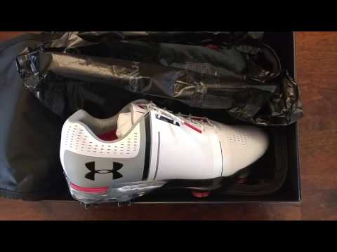 UNBOXING: Under Armour Spieth One golf shoes
