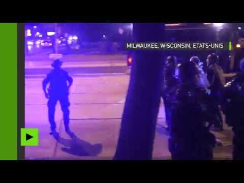 Deuxième nuit de violences à Milwaukee après la mort d'un jeune Afro-américain