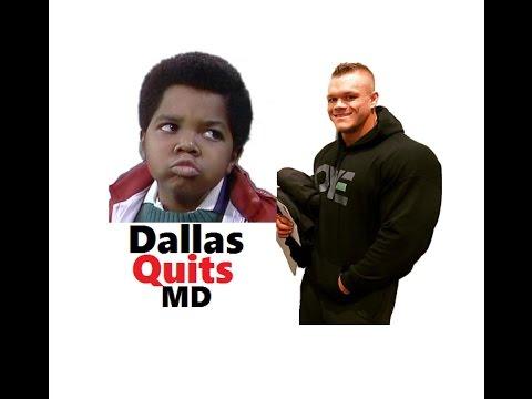Dallas McCarver Quits Muscular Development / Bodybuilding
