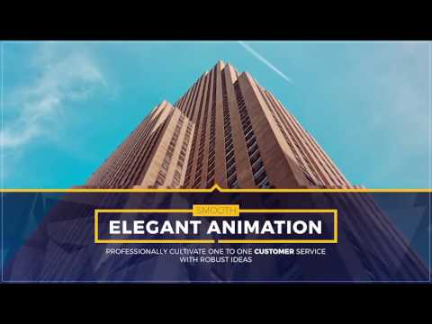 Stylish Slides and Titles - After Effects template from Videohive