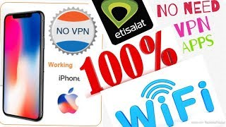 UAE VPN Solution 100% Wifi & Etisalat Data No Need VPN Software/ Iphone working This Vpn