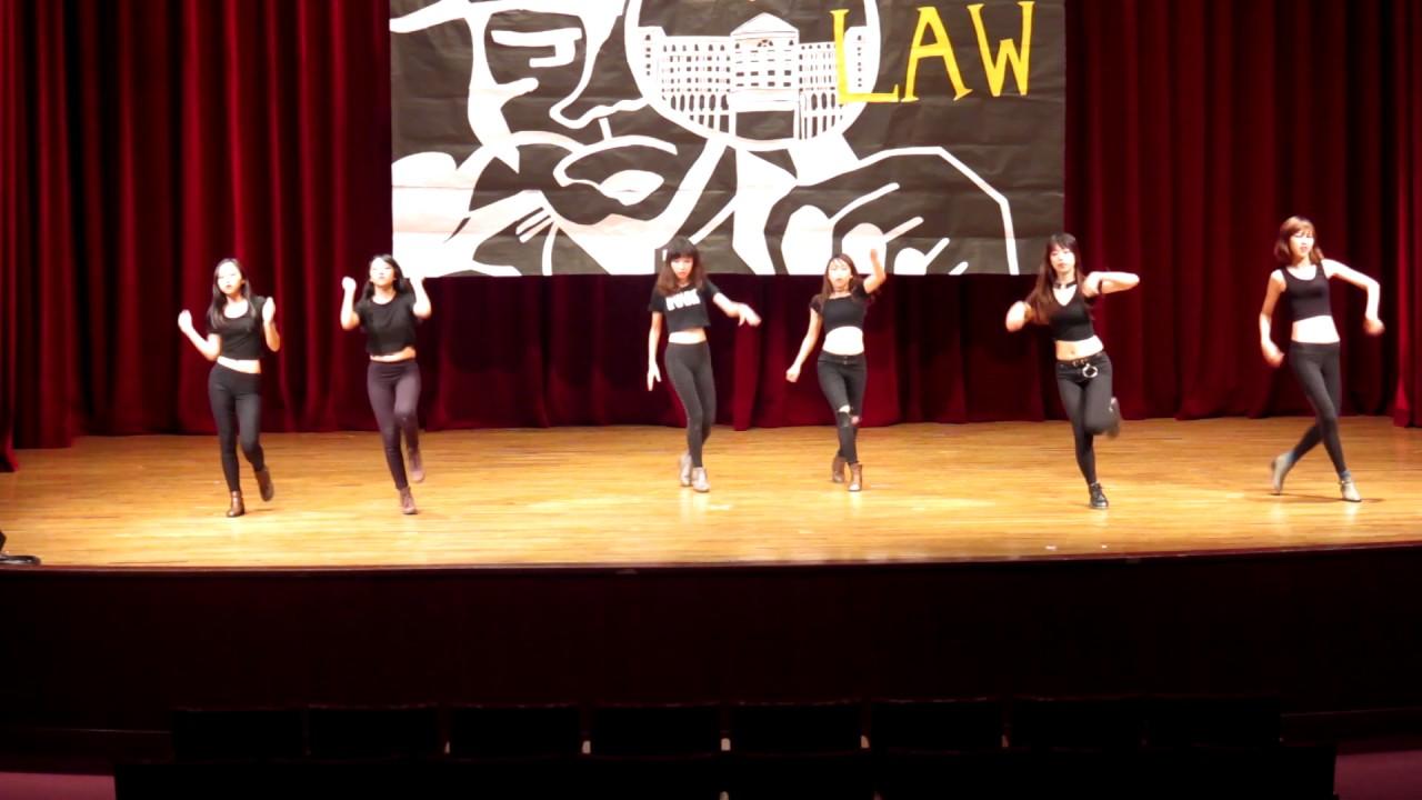第八屆北大法律營晚會 開場+男女舞 - YouTube
