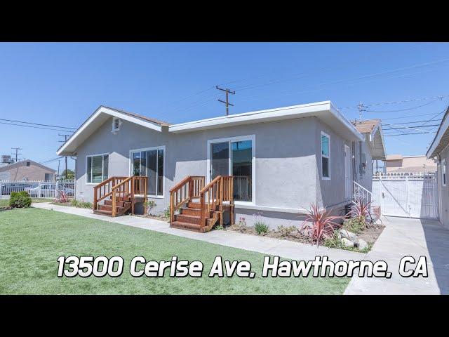 [Virtual Tour] 13500 Cerise Ave, Hawthorne, CA 90250
