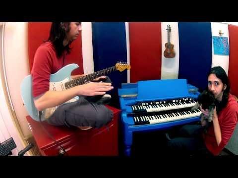 Final Fantasy VII - Electric de Chocobo - surf rock clone band cover!